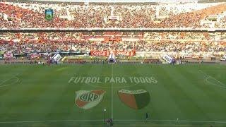 Fútbol en vivo. River - Colón. Fecha 18. Torneo de Primera División 2015. FPT.
