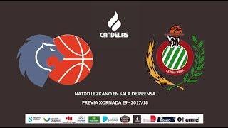 Video Natxo Lezkano RP previa Cafés Candelas Breogán - Levitec Huesca 17/18