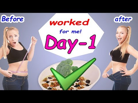 My 7 Days Challenging GM Diet Plan To Lose Weight That Worked for Me! - Lose Weight Fast-Day 1