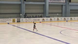 Open figure skating championship of Armenia 2018 Marina Artsvuni