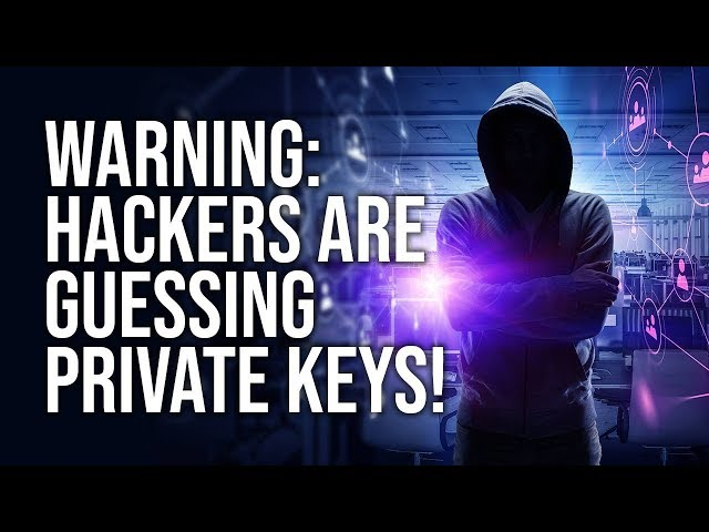 Ethereum Hackers Guessing Private Keys!