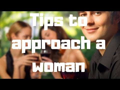 approach a woman on a dating site