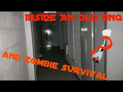 *EXPLORING* INSIDE AN ABANDONED B&Q / ZOMBIE SURVIVAL