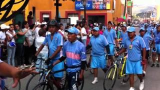 Salida de Ciclistas Empalme Escobedo 2015