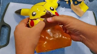 One of Carl & Jinger Family's most viewed videos: Pokemon Pikachu Secret Revealed!!