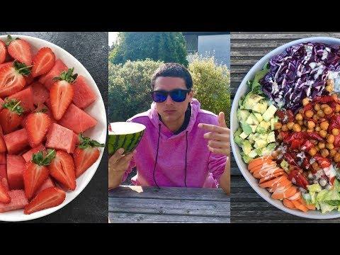 Full Day On My Plate | What I Eat In The Summer Burn 🔥| Vegan