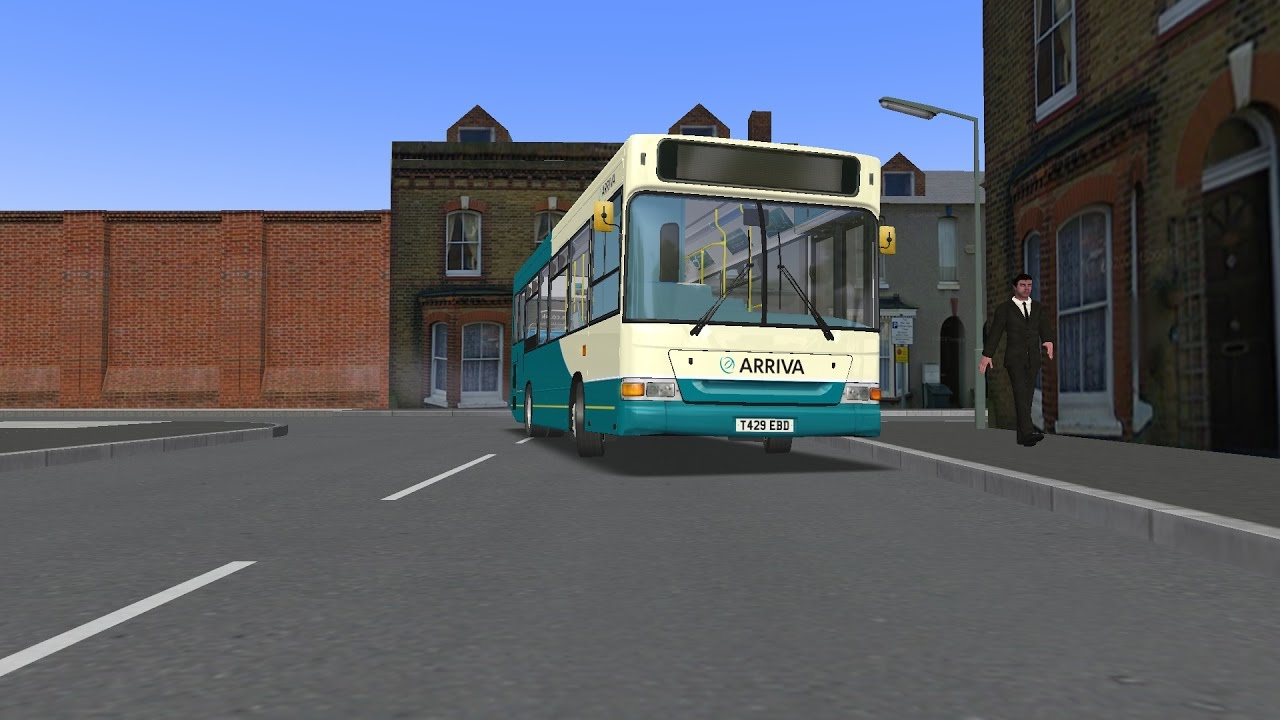 LOUD WHISTLE* OMSI 2 | Dennis Dart MPD/Allison AT545 Mod
