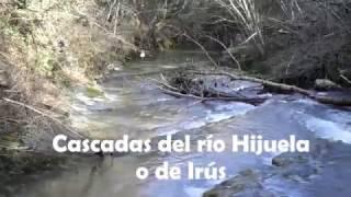 Cascadas del río Hijuela o de Irús