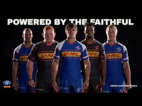 DHL Stormers 2018 jersey launch #WeStandTogether