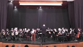 Orquesta Vicente Aleixandre. Concierto para clavecín y orquesta de J. S. Bach. Tercer tempo.