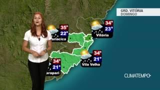 Previsão Grande Vitória - Chove de manhã