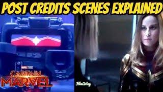 Captain Marvel Post Credit Scenes Explained | Avengers: Endgame Connection