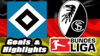 Hamburgo vs Freiburg - 2017-18 Bundesliga Highlights