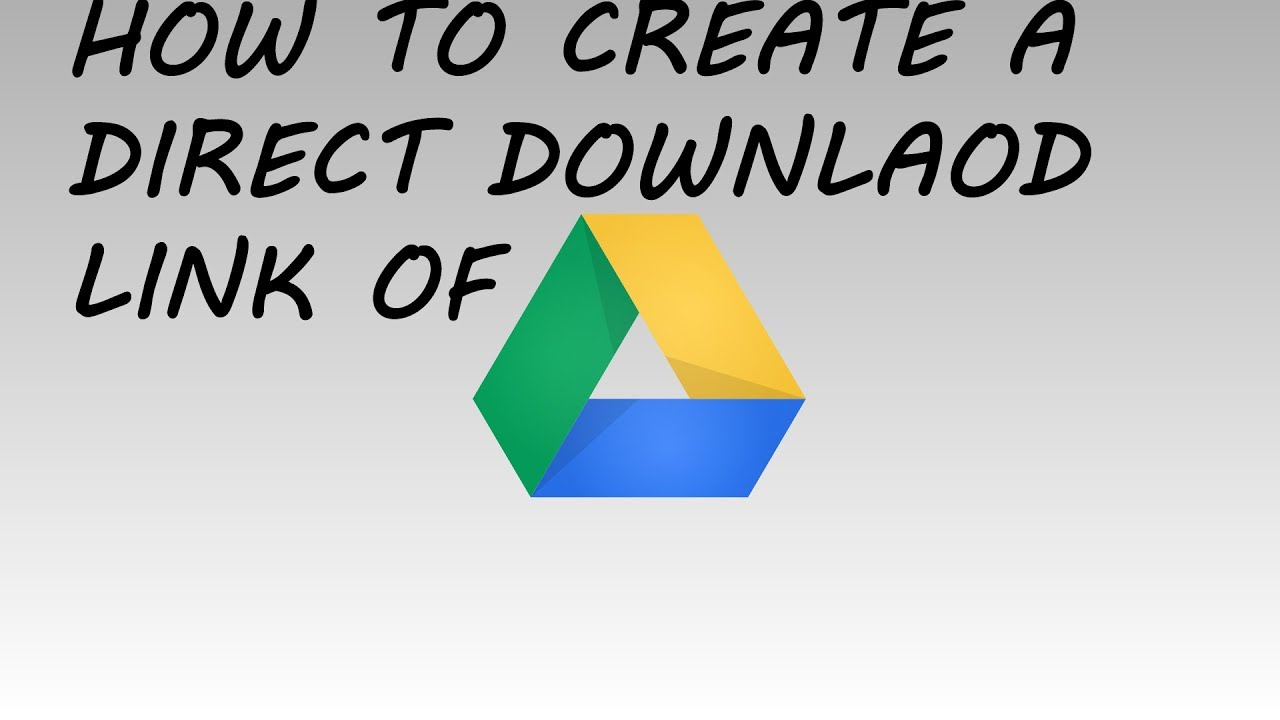 how to put a link on google drive