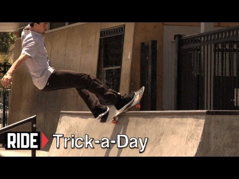 How-To Skateboarding: Frontside Feeble On Transition With Anthony Schultz
