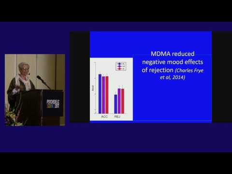 Harriet de Wit: Ecstasy in the Laboratory - Recent Advances in MDMA Research
