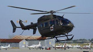 Three UH-72 Lakotas land at San Carlos Airport HeliFest 2011