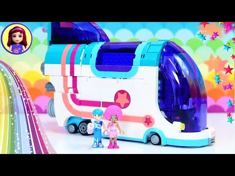 Pop Up Party Bus Lego Movie 2 Build - Disco Time with Unikitty