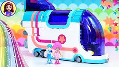 Pop Up Party Bus Lego Movie 2 Build - Disco Time with Unikitty!