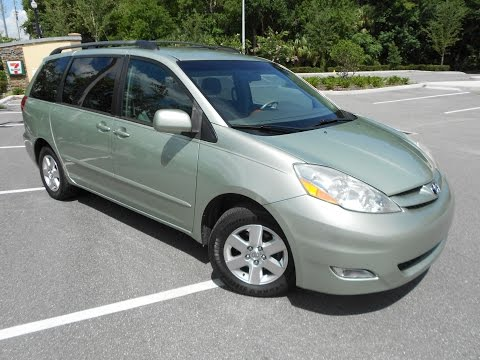 2006 Toyota Sienna XLE Carfax 1 Owner No Accidents Florida Van Extra Clean!