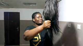 Gambar cover Jumia Wig Haul: Great wigs under 10,000 naira you can definitely slay in!!!!