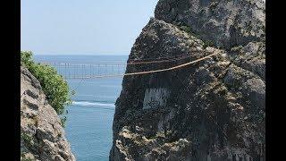 Подвесной мост и зип-лайн на скале Дива, Симеиз