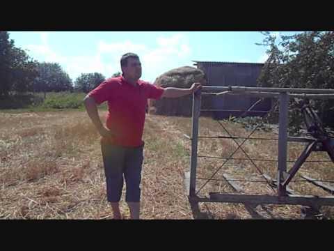 мтз- 82 косим траву - YouTube