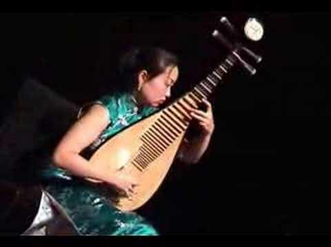 """Liu Fang pipa solo  """"The Ambush"""", traditional Chinese music"""