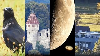 NIKON P1000 Optical Superzoom Test - Saturn, Planes, Moon, Church, Castle - World Record