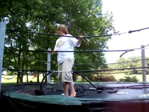 How To Turn A Trampoline Into A Wrestling Ring