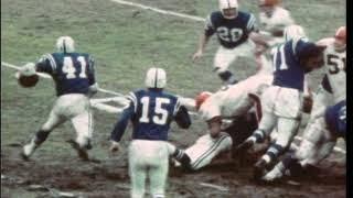 1968 NFL Championship Browns vs Colts