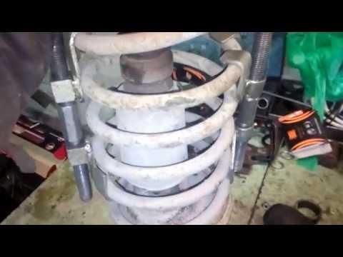 Замена передней стойки( амортизатора ,патрона,вкладыша) ВАЗ 2109 2108 21099