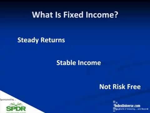 Advanced Fixed Income: Not Your Grandfather's Bonds