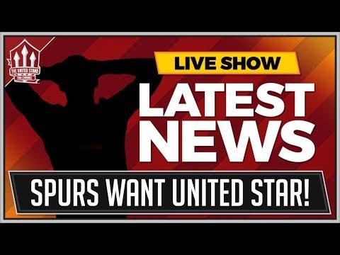 SPURS Bid For MANCHESTER UNITED Star! MAN UTD Transfer News