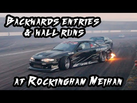 Backwards Entries & Wall Runs At Rockingham MEIHAN Layout