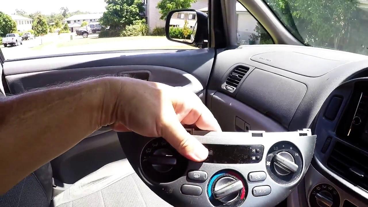 Toyota Previa Heater Relay Emina Fuse Box Tarago Estima Acr Controls Youtube 1280x720