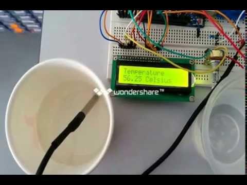 Ds18b20 Water Proof Temperature Sensor Youtube