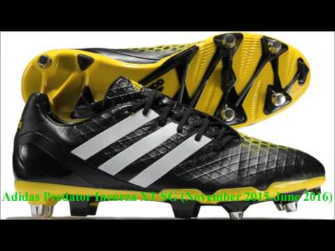 Rugby Boot Assortment Videos