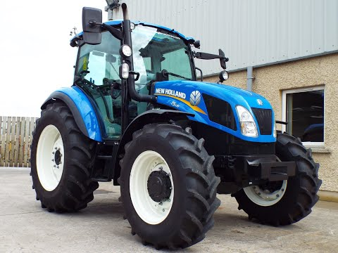 2018 New Holland T5.105