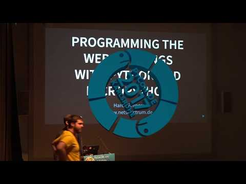 PyCon.DE 2017 Hardy Erlinger - Programming the Web of Things with Python and MicroPython