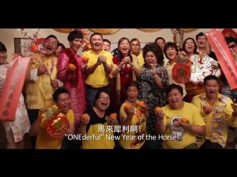 "Teresa Kok ""Onederful"" Malaysia CNY 2014 Video Clip"