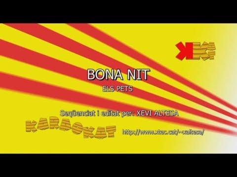 Bona nit - ELS PETS - Karaoke en català - KARAOKAT