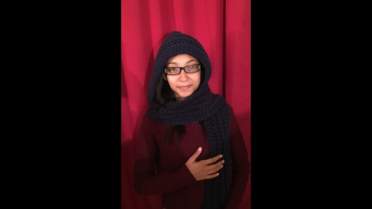 How to crochet the keep me warm hooded scarf tutorial youtube how to crochet the keep me warm hooded scarf tutorial bankloansurffo Images