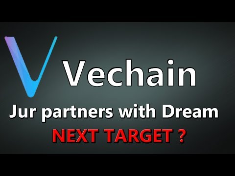 Vechain Price Prediction | Jur Partners With Dream Tower | LiveDayTrader 16 Jan 2020