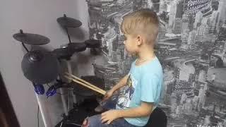 Урок игры на барабанах для начинающих.  Урок 1