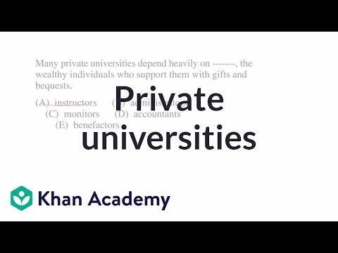 1 Private universities