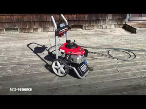 How To Start Honda Pressure Washer