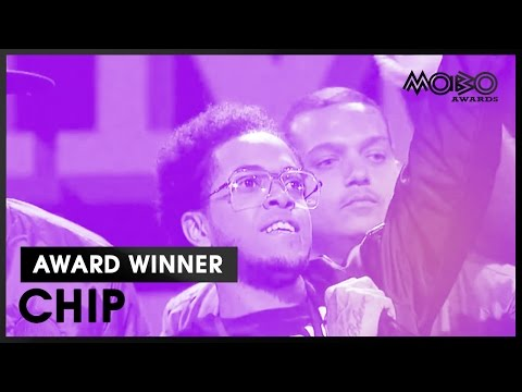 CHIP  BEST GRIME ACT acceptance speech at MOBO Awards