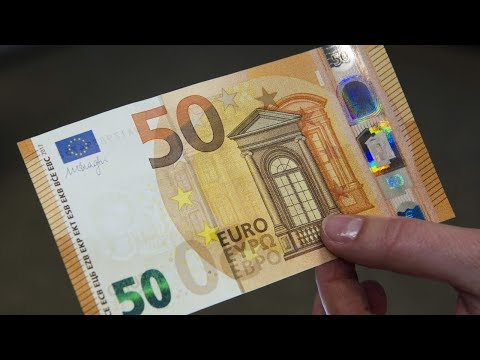 HOW MONEY IS MADE - 50 EURO BANKNOTE HSW115