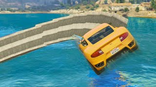 Insane Water Spiral Stunt (GTA 5 Funny Moments)